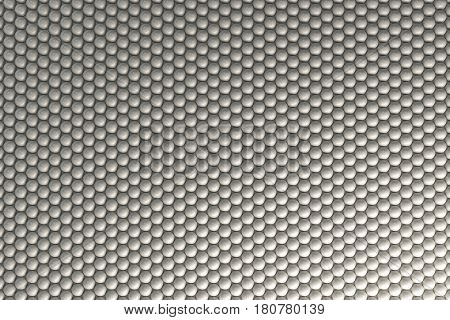 Pattern Of White Spheres