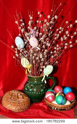 Pussy-willow Revival And Easter Eggs