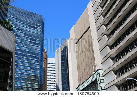 Modern Office Building In Umeda
