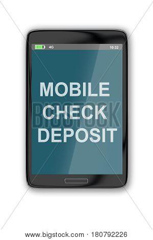 Mobile Check Deposit Concept
