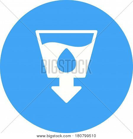 Hand, sanitation, sanitizer icon vector image. Can also be used for community. Suitable for mobile apps, web apps and print media.