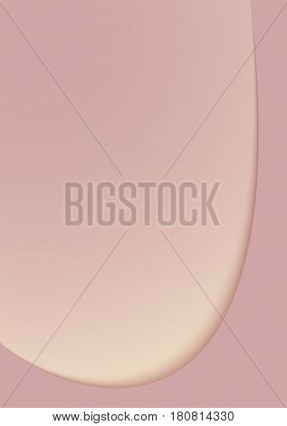Vector background of pinkish shade in two layers with shadow