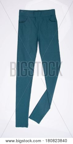 Pants For Girl Or Female Pants On A Background.