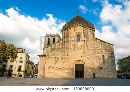 Saint Peter Monastery Church in Besalu La Garrotxa Catalonia Spain