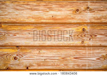 Texture of wooden planks with some spaces between them