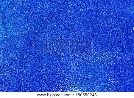 Blue glitter texture background blue sparkle background.