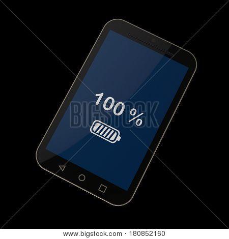 smart phone, 3d render