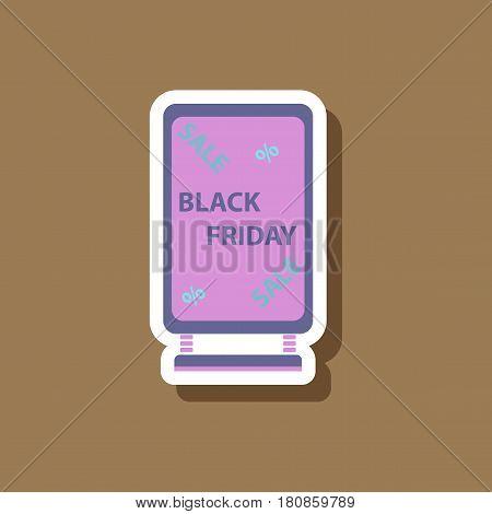 fashion patch , sale sticker signboard black friday
