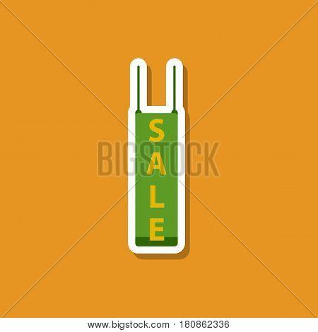 fashion patch , sale sticker signboard discount market