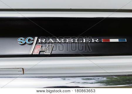 Amc Hurst Sc Rambler Emblem On Display