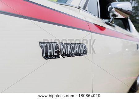 Amc Machine Emblem On Display