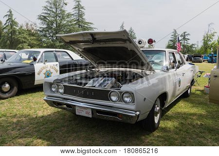 Dodge Coronet Police Pursuit Muscle Car