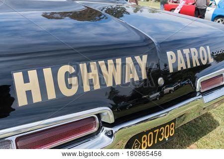 Dodge California Highway Patrol Car