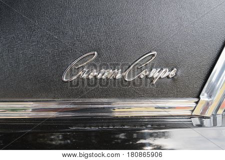 Chrysler Imperial Crown Coupe Emblem