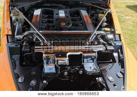 Plymouth Prowler Engine On Display