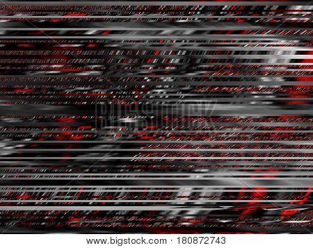 Abstract futuristic geometric image. Horizontal geometric background.