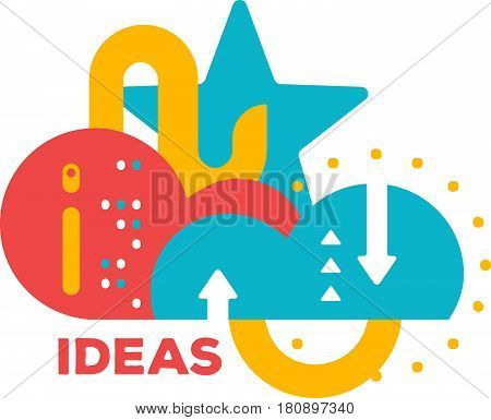 idea; text; think; imagination; inspiration; conceptual; creative; creativity; work; cloud; word; storm; brain; arrow; abstract; modern; graphic; template; element; digital; multicolor; geometric; futuristic; abstraction; unusual; geometrical; decoration;