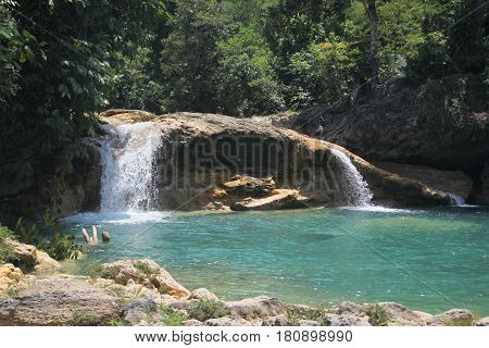 Bao-Bao Falls, Lianga, Surigao del Sur, Philippines A hidden gem in the southern Philippines