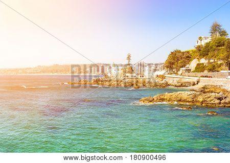 Seaside In Vina Del Mar, Chile