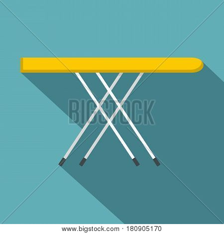 Ironing board icon. Flat illustration of ironing board vector icon for web