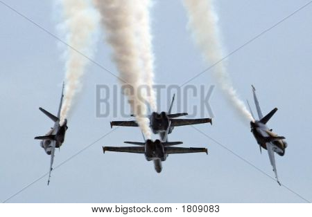 Four Navy Blue Angels