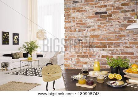Breakfast In Dining Hall