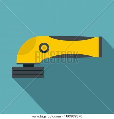 Grinder machine icon. Flat illustration of grinder machine vector icon for web