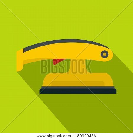 Fret saw icon. Flat illustration of fret saw vector icon for web