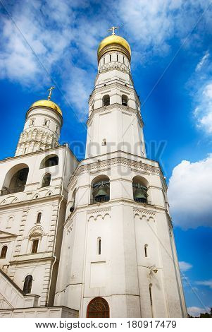 Ivan the Great bell tower of Moscow Kremlin