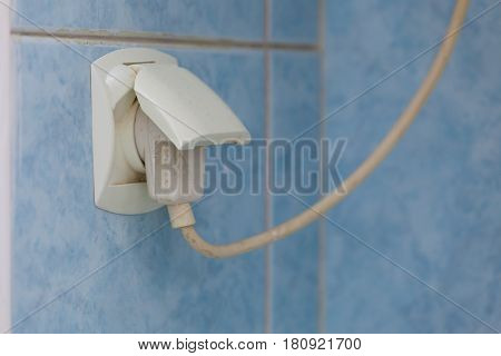 Power Socket Outlet With Electric Plug