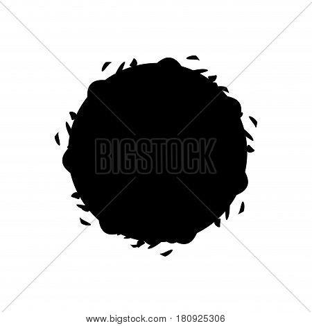 black wine bubble liquor beverage, vector illustration design