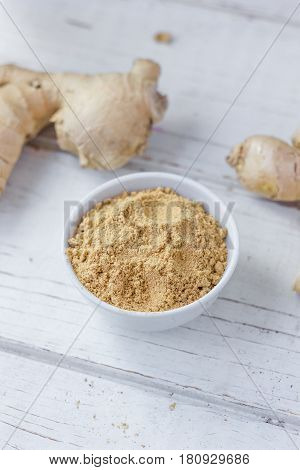 Grounded Ginger And Ginger Root