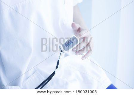 Blood Pressure Finger Monitor