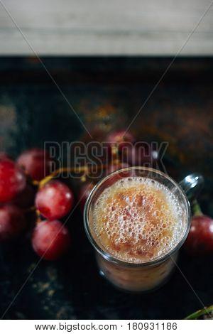Fresh Grape Lassi