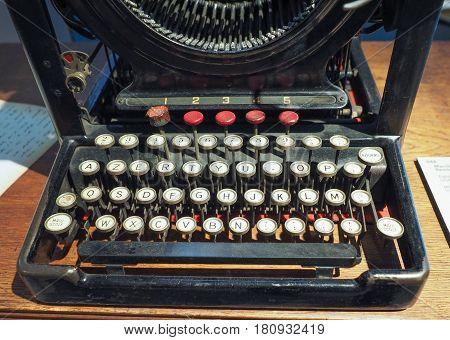 Vintage Remington Typewriter In Turin