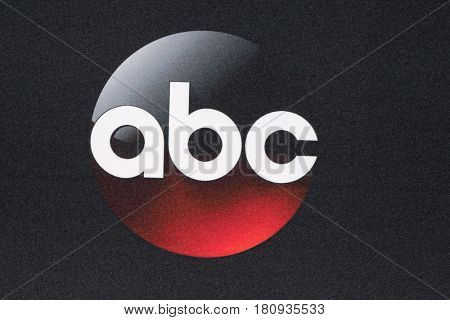 LOS ANGELES - APR 8:  ABC Emblem at the