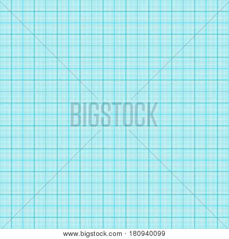 Millimeter paper  seamless pattern vector background  technology paper