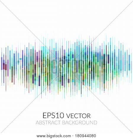 Abstract Background With Many Multicolored Geometric Shapes.
