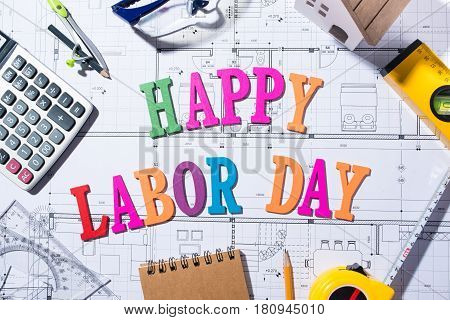 International Workers' Day. Labor day concept. 1.5