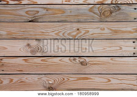 A wooden background with a pronounced pattern
