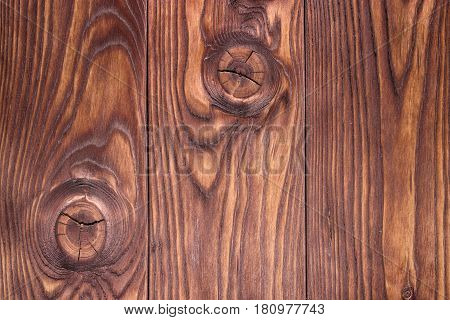 Old Vintage Planked Wood Texture Background. Top View Of Rustic Wooden Wall Surface