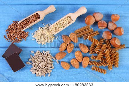 Natural Ingredients And Products Containing Magnesium And Dietary Fiber