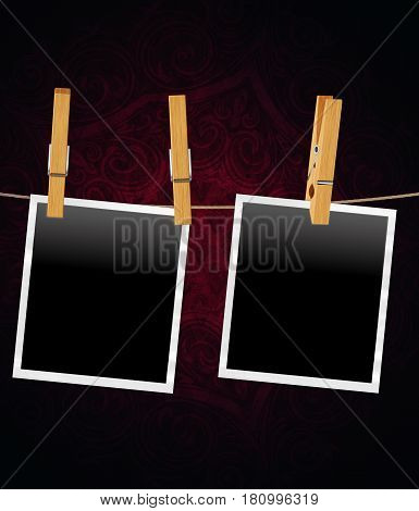 Old Film Frame Template