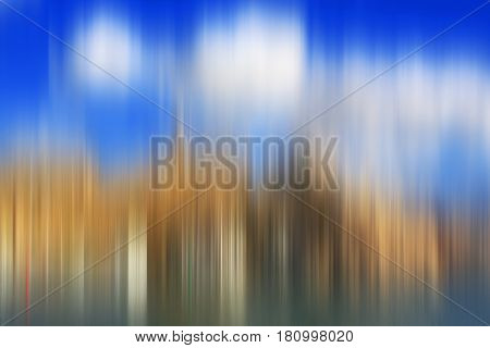 Abstract colorful urban blurred background for creative design