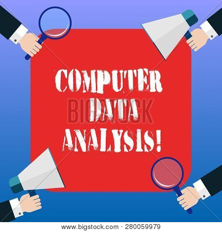 Handwriting Text Computer Data Analysis. Concept Meaning Using Computer To Assist Qualitative Data A