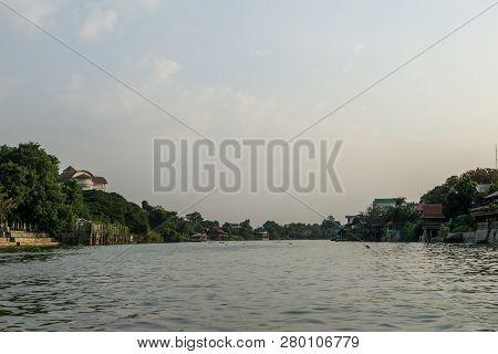 Chao Phraya River Scenery