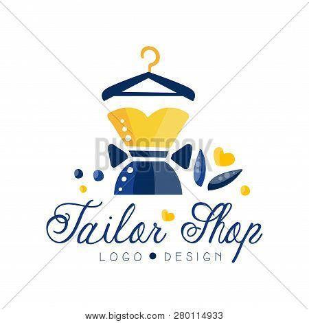 Tailor Shop Logo Vector Photo Free Trial Bigstock