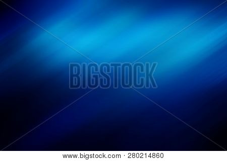 Blue Motion Speed Abstract Background, Motion Effect, Motion Blur Abstract Background, Digitally Gen