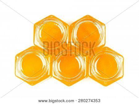 Small honey jars