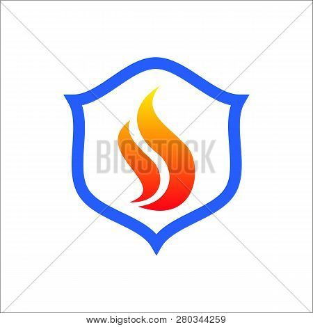 Fire Vector Icon Flat Style Illustration For Web, Mobile, Logo, Application And Graphic Design.fire